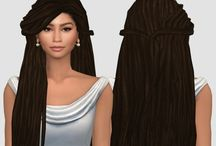 The Sims 4 || Hairs
