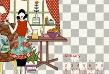 my calendar < 2011  / Foods direction and Calendar