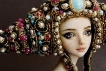 Ceramic and Clay Dolls