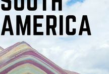Traveling in Central & South America: Countries Guides / Tips and inspiration to travel in Central and South America.
