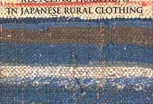 Noragi - Japanese rural clothing / Clothing made of bast fibers such as hemp, kudzu,wisteria,nettle,linden,paper mulberry and so on...