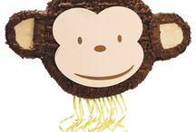 Monkies for your little monkey! / All the monkey party supplies you need!
