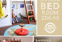 HOME: Child Friendly / Bright, colourful, FUN ideas for decorating baby's nursery and your children's bedroom.