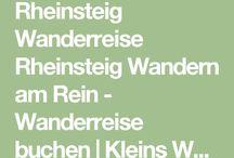 Rheinsteig / Urlaubsplanung 2017