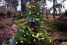 Christmas tree / Outdoor Christmas tree, Outdoor Christmas decoration, Forest  Installation. By Malin & Charlie Sköld