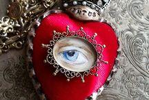 Eyes and hearts