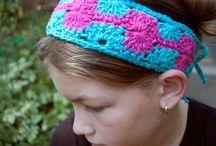 Crochet accessories - headbands, bracelets, purses, etc.