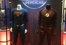 Movies and tv show costumes / To wear the costumes to become superhero for fun or fight crime