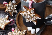 Candy and cakes for Christmas
