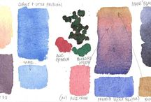 Watercolours: Ideas and Examples