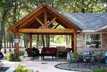 Carport/Pavilion Ideas / Ideas and elements we might incorporate in our rustic car port/pavilion plan