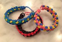 Rainbow Loom / All things #RainbowLoom - #ideas, #inspiration, #tutorials & #organization