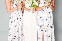 Floral Wedding Wear Bridesmaids