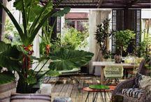 Mooie tuin/veranda/overkapping