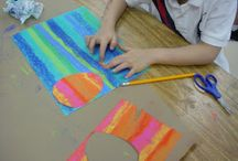 great primary & elementary art lessons