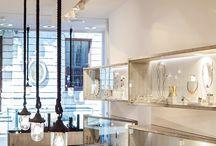 Jewelry store display