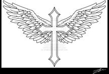 Krzyż i skrzydła