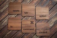 keyboard coaster
