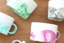Ceramic mug/cup product styling