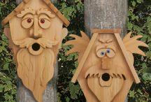 Dřevo, organizer, poličky