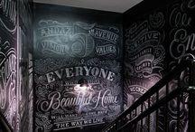 chalkboard art!