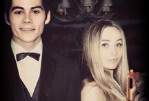 Sabrina and Dylan O'Brien