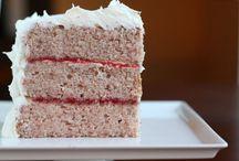 Oppskrift på strawberry cace ( brukes i strawberry cheese cake oppskriften
