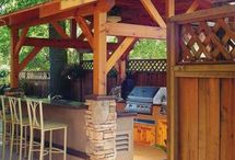 Outdoor entertaining / summer houses, bbq area, country entertaining