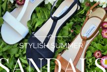 Stylish Leather Sandals In A Wide Fit / Beautiful leather sandals made specifically in a wide ft. Perfect for summer!