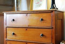 Vintage drawers / by Sarah Leigh