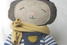 Pénélopie / Firmin, rabbit soft toy Firmin un doudou lapin