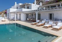 Jasmina - Mykonos / Jasmina is a freshly renovated private property located in the area of Agia Sofia, a location that grants reasonable distance from the hustle and bustle of Mykonos Town combined with fantastic views of the neighbouring islands and colourful sunsets. Discover more... http://www.mykonosvillas.com/our-villas/jasmina