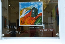 Cornwall Heritage:Mines & Monuments Exhibition / Cornwall Heritage:Mines & Monuments - the paintings from my 2009 exhibition at The Spring Gallery in Falmouth, Cornwall