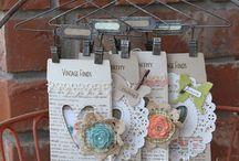 CREATING - Handmade Tags / by Shona Hendrycks
