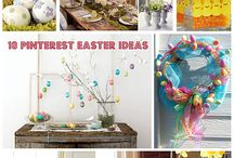 Easter Ideas / Everything for your Easter Holiday from Easter egg ideas, wreaths, table settings and Easter Brunch. http://lauratrevey.com/category/easter/