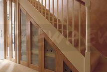 stair cupboard ideas