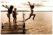 Lake/Lakeside docks / Seneca Lake and lakeside docks for the next book