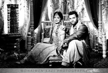 Black and White Indian Wedding Photos / by Indian Wedding Site