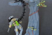 Profi Lego építmények