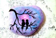 maľovanie na kamen