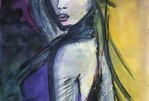 My art / Mixed media and digital art.