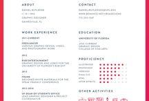 College (Illustrated CV)