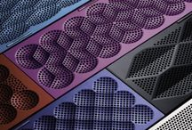 vent hole&pattern knurling&mesh
