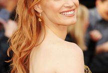 light copper hair