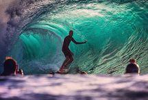 Plage, Surf et vagues / L'océan et la glisse.
