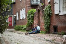 Chelsea and Sean's Engagement Session Inspiration / Inspiration for Chelsea and Sean's Philadelphia Engagement Session.