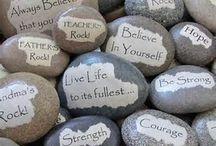 leuke teksten steen