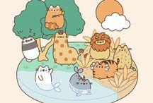 #Pusheen the cat (emmybug)