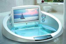 Sweet Bathrooms! I love my bubble baths :)
