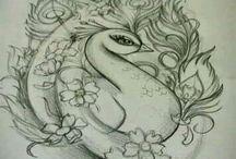 kresby tuzkou